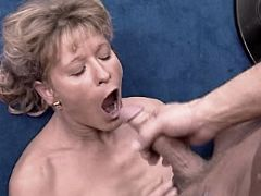 Hot mature waiting cum after fuck