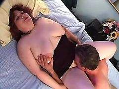 Fat grandma going horny with doctor